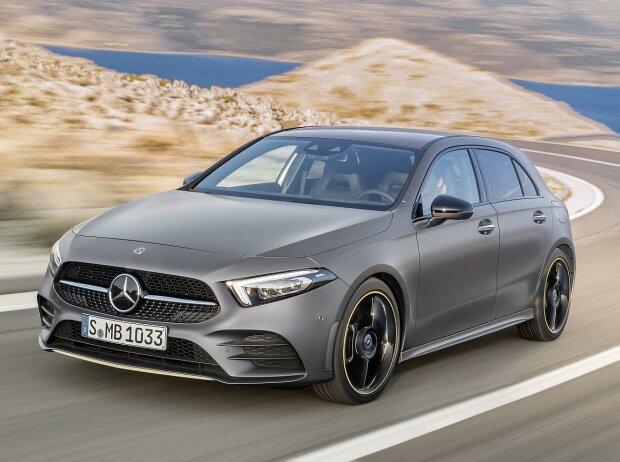 Mercedes a klasse 2018 test alles zu preis innenraum ma e for Interieur neue a klasse