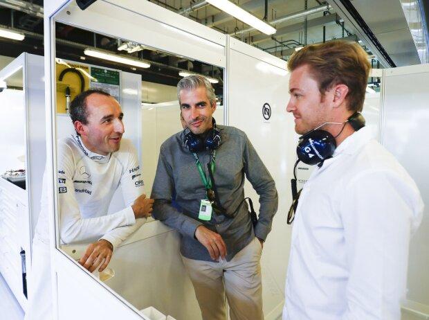 Robert Kubica, Nico Rosberg