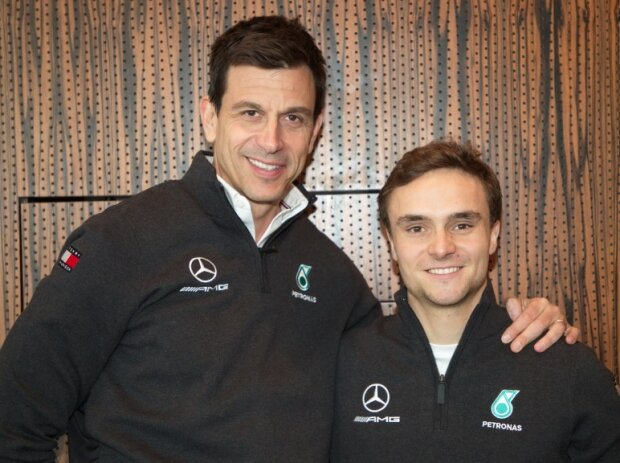 Lucas Auer, Toto Wolff