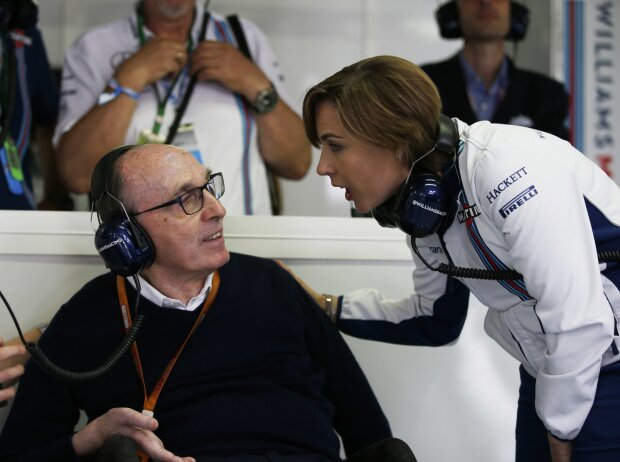 Frank Williams, Claire Williams