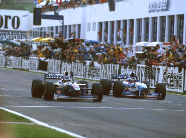 Jacques Villeneuve, Gerhard Berger