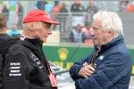 Niki Lauda und Charlie Whiting