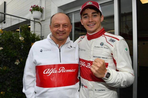 Charles Leclerc Sauber Alfa Romeo Sauber F1 Team F1CIP CIP Moto3 ~Charles Leclerc (Sauber) ~