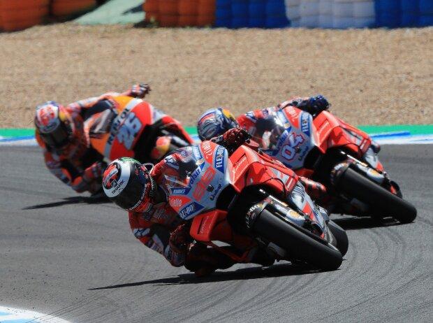 Jorge Lorenzo, Andrea Dovizioso, Daniel Pedrosa