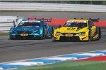 Gary Paffett (HWA-Mercedes) und Timo Glock (RMG-BMW)