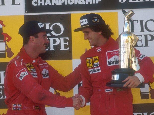 Alain Prost, Nigel Mansell