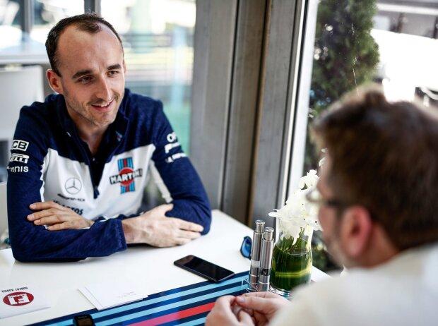 Robert Kubica und Andrew van de Burgt