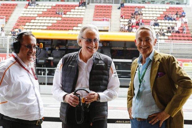 Martin Whitmarsh Karim Ojjeh McLaren McLaren F1 Team F1 ~Martin Whitmarsh und Karim Ojjeh ~
