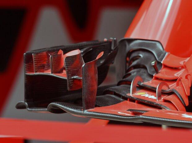 Frontflügel, Ferrari
