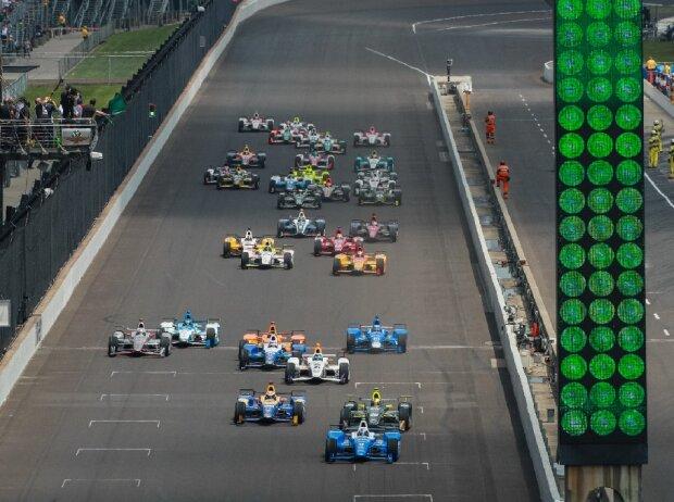 Indy 500, Start