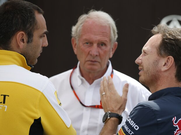Christian Horner, Cyril Abiteboul