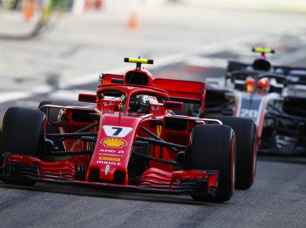 Kimi Räikkönen, Kevin Magnussen