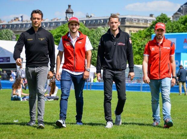 Andre Lotterer, Nick Heidfeld, Daniel Abt, Maro Engel