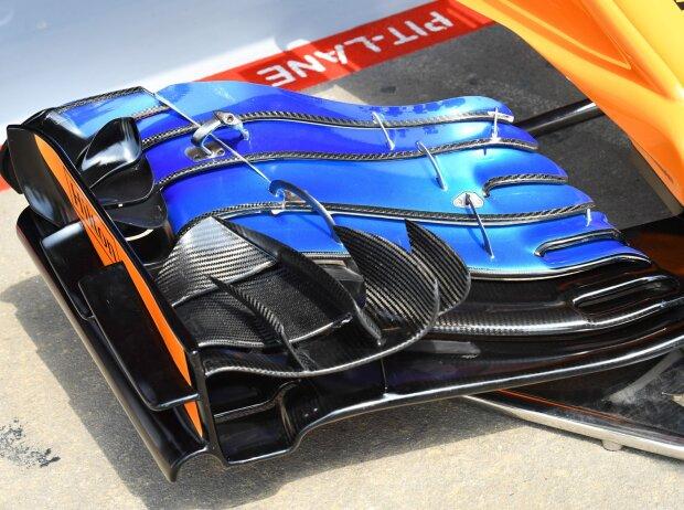 Frontflügel, McLaren