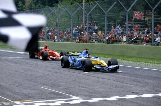 Fernando Alonso Michael Schumacher Ferrari Scuderia Ferrari F1 ~Fernando Alonso (McLaren) und Michael Schumacher ~