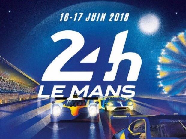 Le Mans 2018 Plakat