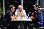 Helmut Marko und Brendon Hartley (Toro Rosso)