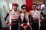 Fernando Alonso (Toyota) und Kamui Kobayashi (Toyota)