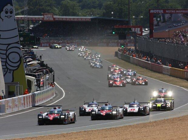 24h Le Mans 2017 Start
