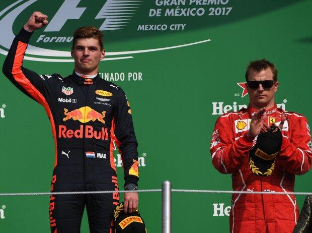 Valtteri Bottas, Max Verstappen, Kimi Räikkönen