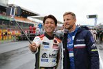 Keita Sawa (Clearwater) und Jenson Button (SMP)