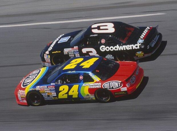 Jeff Gordon und Dale Earnhardt