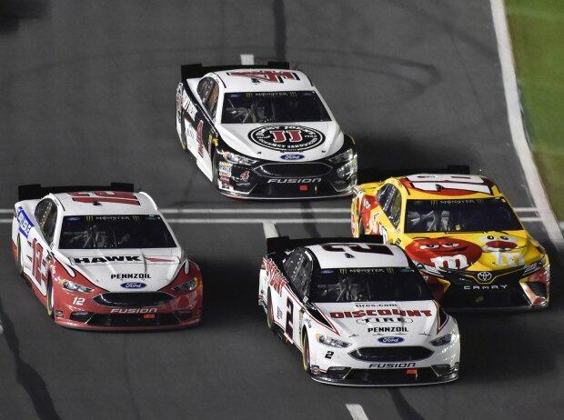 Renn-Action beim NASCAR All-Star Race 2018 in Charlotte