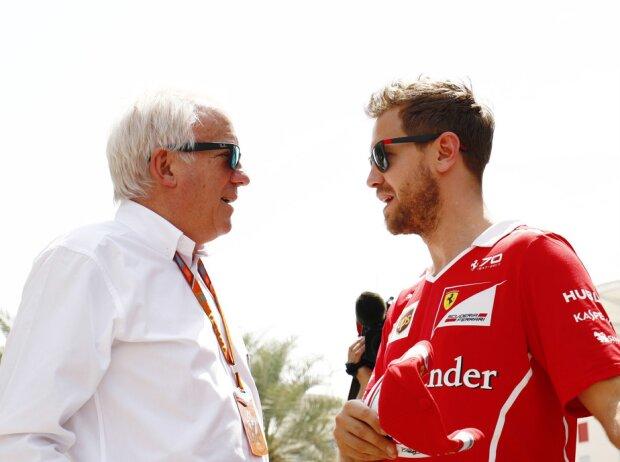 Sebastian Vettel, Charlie Whiting