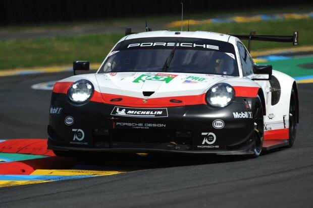 Patrick Pilet Nick Tandy Earl Bamber Porsche Porsche GT Team WEC ~Patrick Pilet, Nick Tandy und Earl Bamber ~