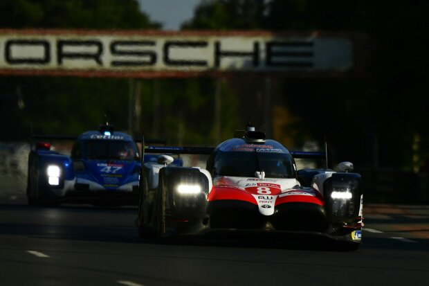 Kazuki Nakajima Fernando Alonso Toyota Toyota Gazoo Racing WEC ~Kazuki Nakajima (Toyota) und Fernando Alonso (Toyota) ~