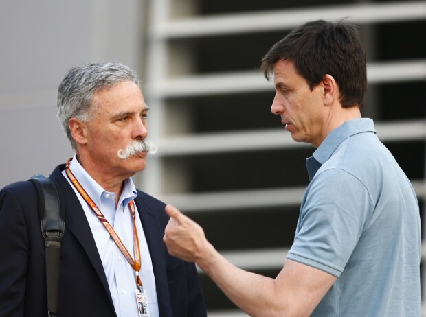 Chase Carey, Toto Wolff