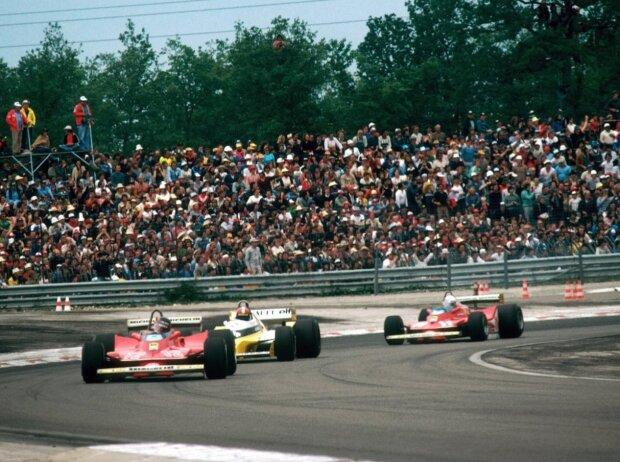 Gilles Villeneuve, Jean-Pierre Jabouille, Jody Scheckter