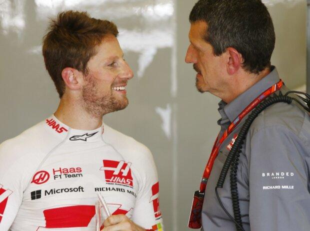 Romain Grosjean, Günther Steiner