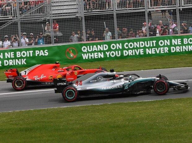 Kimi Räikkönen, Lewis Hamilton