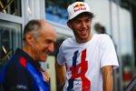 Franz Tost und Pierre Gasly (Toro Rosso)