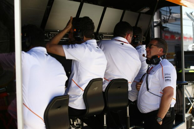 Eric Boullier Zak Brown McLaren McLaren F1 Team F1 ~Eric Boullier und Zak Brown ~
