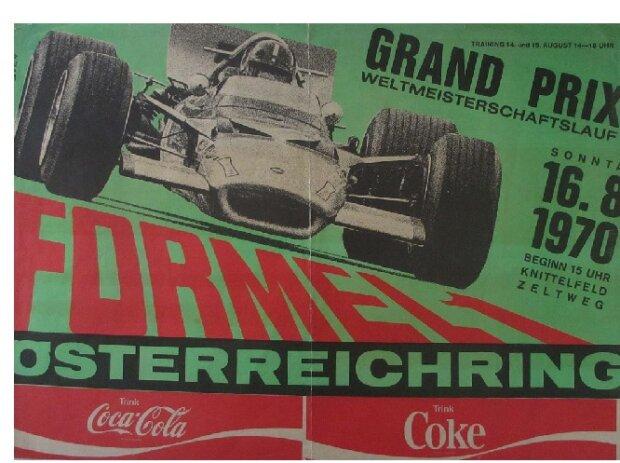 Zeltweg 1970, Plakat