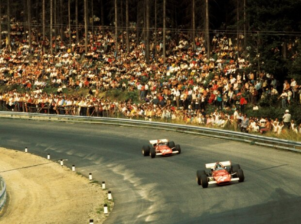 Jacky Ickx, Clay Regazzoni