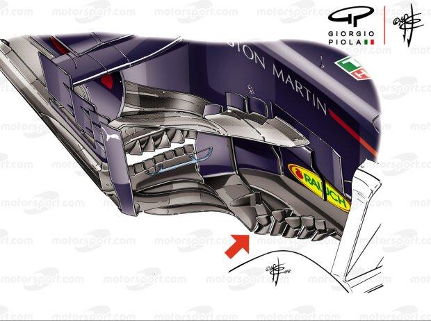 Windabweiser, Red Bull RB14, Piola