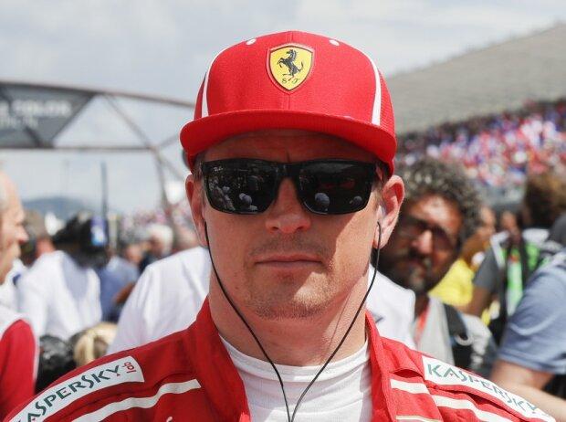 Charles Leclerc, Kimi Räikkönen