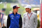 Brendon Hartley (Toro Rosso) und Alexander Wurz