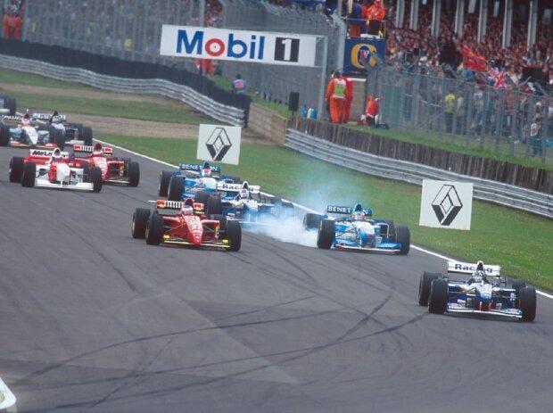 Start, Silverstone, 1995