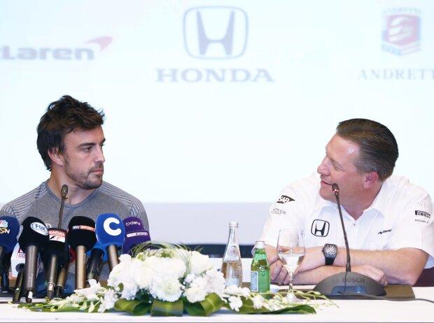 Fernando Alonso, Zak Brown