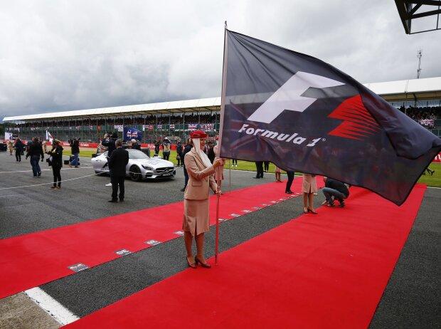 Formel-1-Fahne