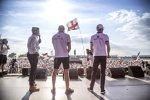 Charles Leclerc (Sauber) und Marcus Ericsson (Sauber)