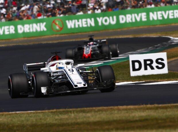 Marcus Ericsson, Romain Grosjean