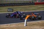 Pierre Gasly (Toro Rosso) und Fernando Alonso (McLaren)