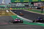 Sergio Perez (Force India) und Pierre Gasly (Toro Rosso)