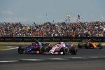 Pierre Gasly (Toro Rosso) und Sergio Perez (Force India)