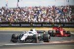 Sergei Sirotkin (Williams) und Kimi Räikkönen (Ferrari)